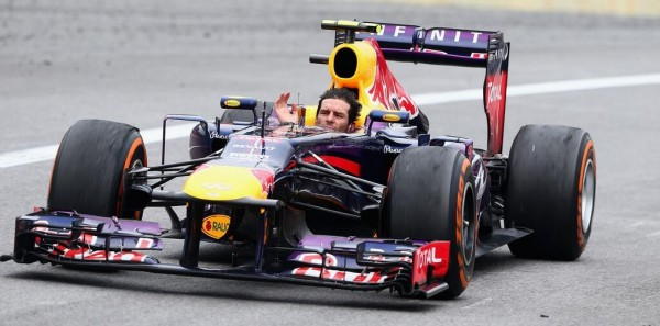 Mark Webber, hoy, en Interlagos
